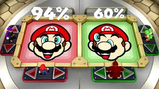 Super Mario Party - All Brainy Minigames | MarioGamers