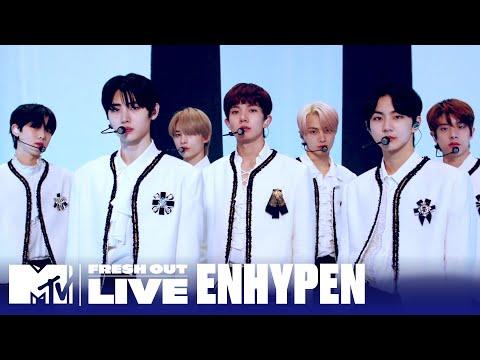 "ENHYPEN Performs ""Given-Taken"" | #MTVFreshOut"
