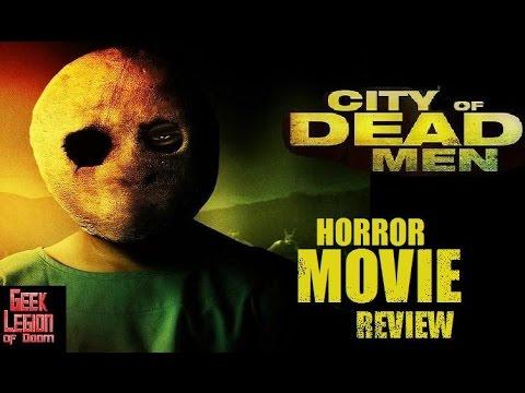 CITY OF DEAD MEN ( 2016 Jackson Rathbone ) Horror Movie Review