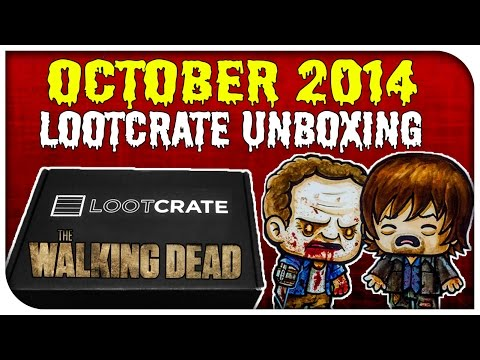 LOOT!!! - I unbox October's Loot Crate that has a theme of 'Fear' which includes some awesome Halloween & Zombie stuff! Including limited edition Walking Dead, Dead Rising 3 & Other Items. ▷Lootcrate's...