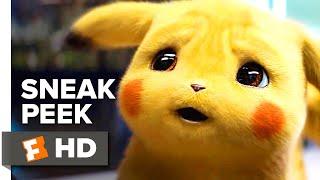 Pokémon Detective Pikachu Sneak Peek (2019) | 'What A Pikachu World' | Movieclips Trailers by  Movieclips Trailers