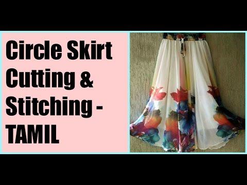 Video Circle Skirt cutting & sittching Tamil (DIY) download in MP3, 3GP, MP4, WEBM, AVI, FLV January 2017