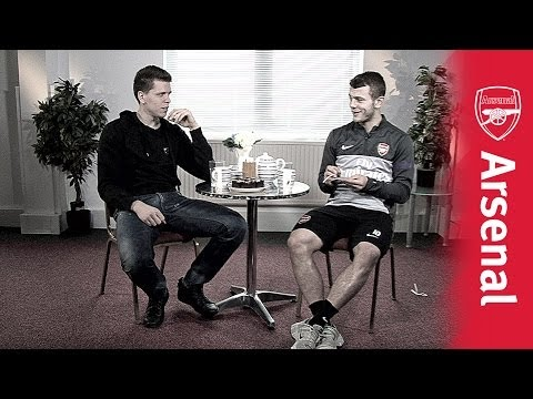 Wilshere - What happens when you get two footballers in a room for tea and chat? Find out in this hilarious video where teammates Jack Wilshere and Wojciech Szczesny di...