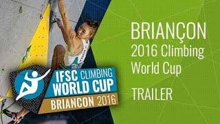 Upcoming LiveStream Trailer - IFSC Climbing World Cup Briancon 2016 - Lead by International Federation of Sport Climbing