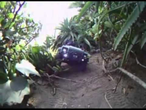 axialvideos - Axial SCX10™ TR scale crawler in action at Corona Del Mar Beach.