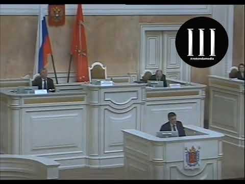 Председатель парламента Петербурга Макаров предложил кардинальные меры в борьбе с COVID-19