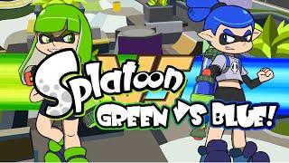 Video Splatoon Green Vs Blue MP3, 3GP, MP4, WEBM, AVI, FLV Desember 2018