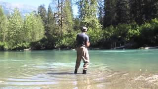 Salmon Fishing Coastal Streams