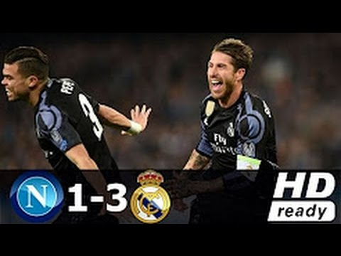 Napoli vs Real Madrid 1-3 - All Goals & Extended Highlights - Champions League 7.3.2017 HD