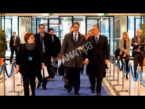 Στις Βρυξέλλες ο  Κ.Μητσοτάκης για τη συνεδρίαση του ΕΛΚ