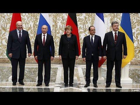 Ουκρανία: Συνάντηση Ολάντ-Μέρκελ-Ποροσένκο μετά την αναζωπύρωση των συγκρούσεων