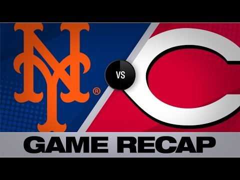 Video: Colon's single in 8th lifts Reds past Mets | Mets-Reds Game Highlights 9/21/19