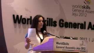 WorldSkills Youth Forum 2012 presentation