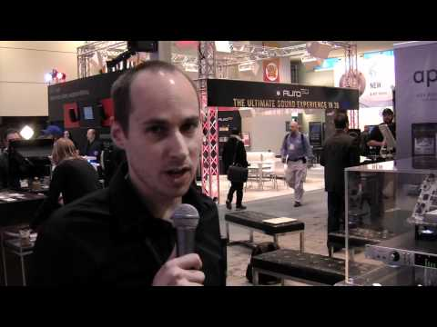 Sweetwater at NAMM 2012 – Universal Audio Apollo UAD-2 Audio Interface Overview