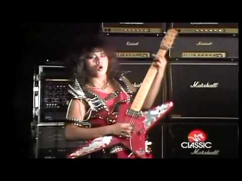Loudness - Crazy Nights (HD) online metal music video by LOUDNESS