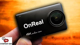 Video The first USEFUL GoPro Clone?  The OnReal 4K Action Camera! MP3, 3GP, MP4, WEBM, AVI, FLV Mei 2019