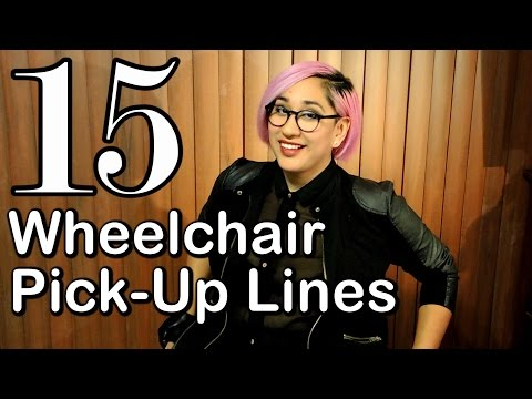 Video 15 CHEESY WHEELCHAIR PICK UP LINES [CC] download in MP3, 3GP, MP4, WEBM, AVI, FLV January 2017