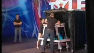 Magician, Sydney - Australias Got Talent 2009 Phoenix Water Tank Illusion, Magic