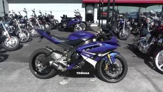 8. 007141 - 2008 Yamaha YZF R6 - Used Motorcycle For Sale