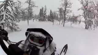 2. GoPro HD: Sledding in Lofsdalen | Summit X 154
