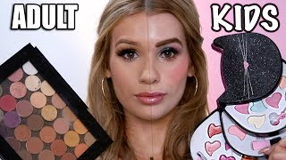 Video Adult VS Kids MAKEUP TUTORIAL MP3, 3GP, MP4, WEBM, AVI, FLV Juli 2018