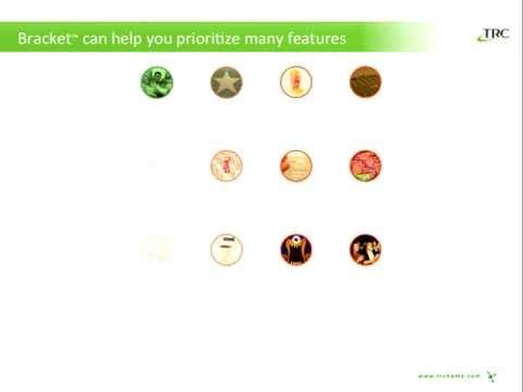 Bracket - new product development technique to understand consumer priorities