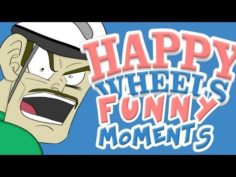 HAPPY WHEELS – FUNNY MOMENTS MONTAGE