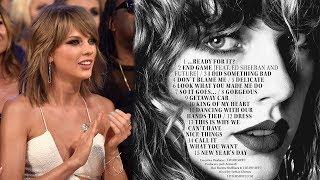 5 Hottest Taylor Swift Reputation Lyrics