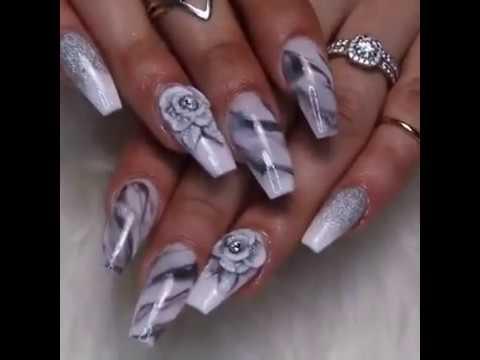Modelos de uñas - NUEVOS DISEÑOS!! Uñas acrílicas 2018/ 3D, Gel paint, Swarovsky...
