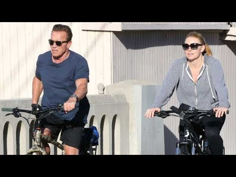 Arnold Schwarzenegger Cruises The Beach On His $5,499 Electric Bike
