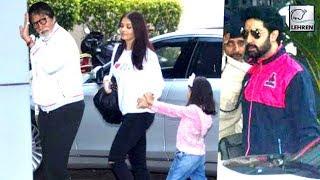 Bachchan Family FLY OFF To Celebrate Big B's 75th Birthday | LehrenTV
