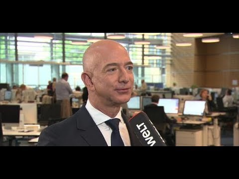 Axel Springer Award 2018: Amazon-Gründer Jeff Bezo ...