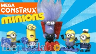 Despicable Me Lair Break in and Buildable Minion Blind Bags from Mega Construx