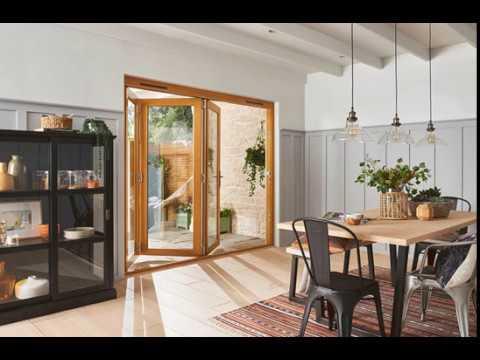Video of Kinsley Golden Oak Folding Patio Doorset 1794mm