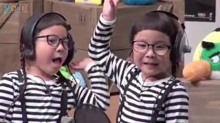 坂上忍、りんか&あんな/映画『アングリーバード』アフレコ公開収録