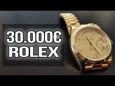 Meine 30.000€ Rolex (Schlechtestes Investment überhaupt) Rolex Day Date Gold 40