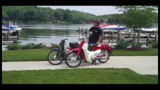 4. SYM Symba vs Honda Super Cub Scooter Comparison