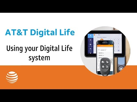 Using your Digital Life system | AT&T Digital Life