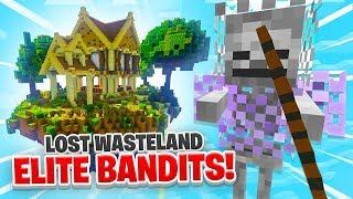 LOST WASTELAND ELITES! - Minecraft SKYBLOCK #20