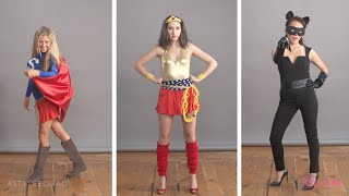 Effortless DIY Superhero Halloween Costumes | Style Squad - YouTube