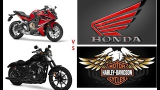1. WOW...!!! 2018 Harley Davidson Sportster® Iron 883 VS 2018 Honda CBR650F