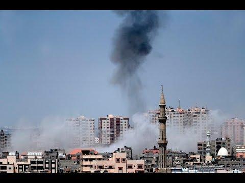 بوساطة مصرية وقف إطلاق النار في غزة