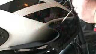 8. R1150R Tank Removal