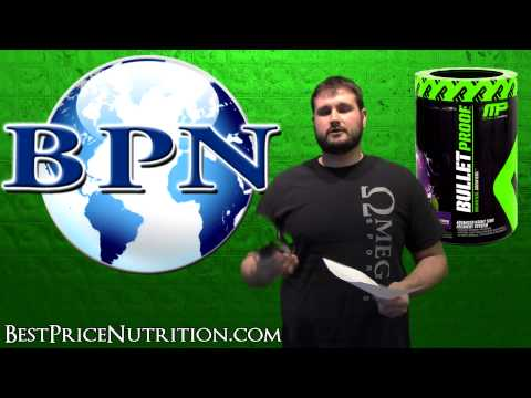 MusclePharm Bullet Proof Review In Depth!