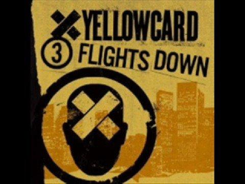 Tekst piosenki Yellowcard - Three Flights Down po polsku