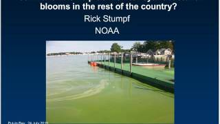 Stone Lab Guest Lecture: Can Lake Erie help us monitor algal blooms in the rest of the country?