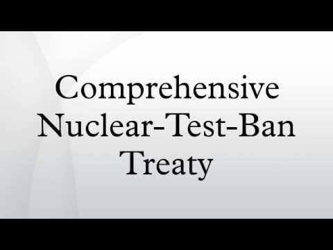 Comprehensive Nuclear-Test-Ban Treaty