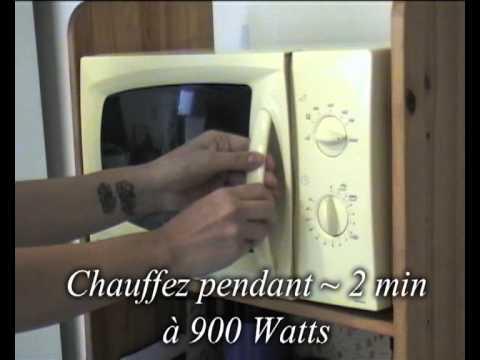 comment remplir bouillotte