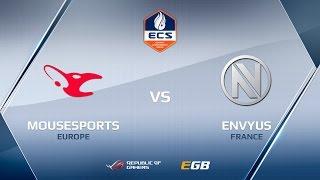 EnVyUs vs mousesports, map 1 cache, ECS Season 2 Europe