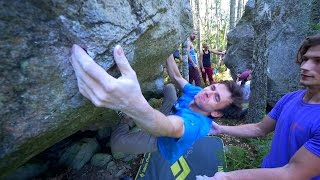 Bouldering Outside Episode Two - With Alex, Emil And Fredrik by Eric Karlsson Bouldering
